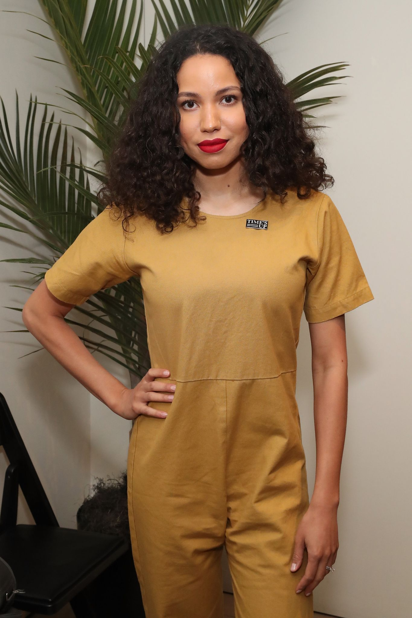 """Jurnee Smollett at """"Time's Up"""" at the Tribeca Film Festival on April 28, 2018 in New York. 
