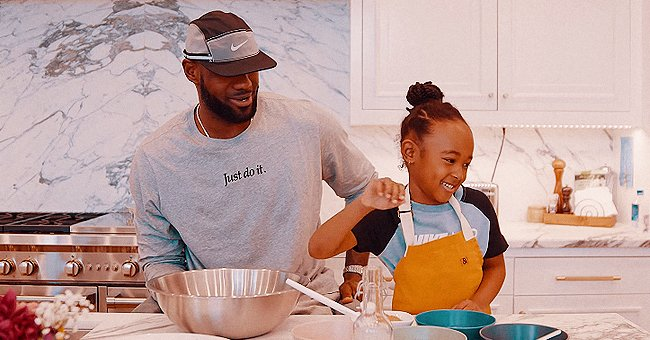 LeBron James Appears in Adorable Cooking Video on His Daughter Zhuri's YouTube Channel