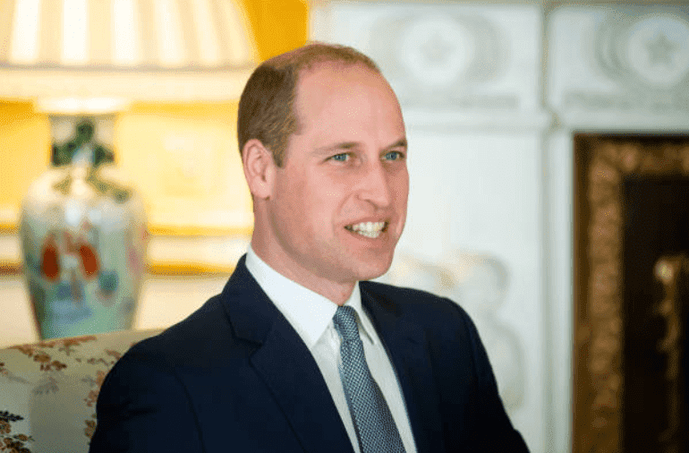 El príncipe William en el palacio de Buckingham, el 20 de enero de 2020. |  Fuente: Victoria Jones - WPA Pool / Getty Images