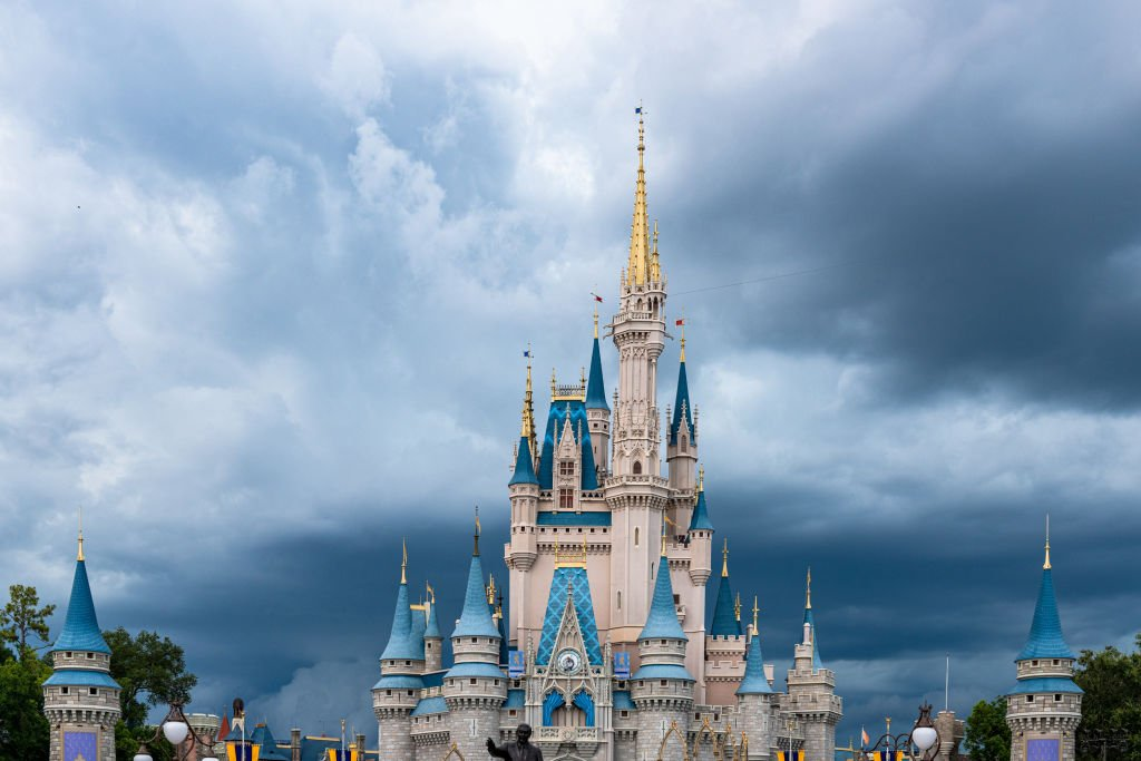 The Cinderella Castle in the Walt Disney's Magic Kingdom theme park in 2017. I Photo: Getty Images.
