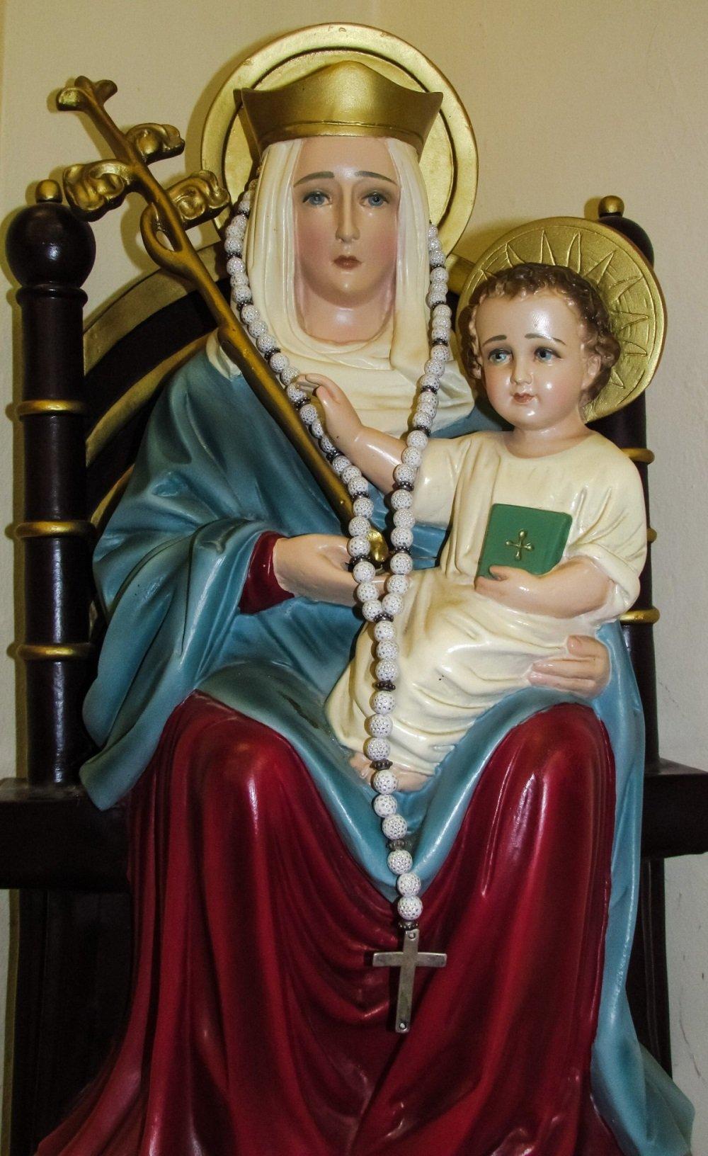 Imagen de la Virgen María y el Niño Jesús.| Imagen: PxHere