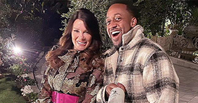 Jaleel White Flashes White Smile Posing in a Sweet Joint Photo with Lisa Vanderpump