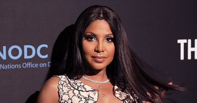 Toni Braxton's Teen Son Diezel Shows Gorgeous Fluffy Hair Posing in a Car Wearing Denim Jacket