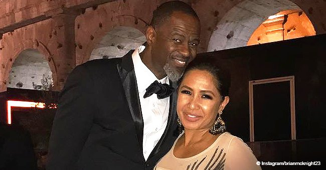 Brian McKnight's new Filipina wife screams with joy as he gives her $150K G-Wagon for her birthday