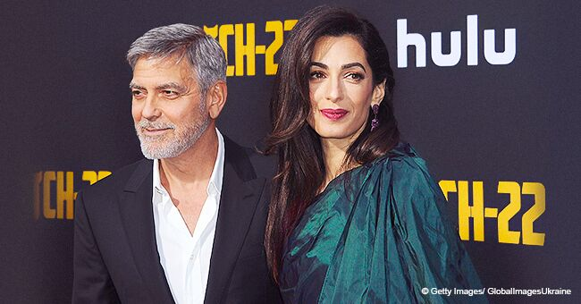 Amal Clooney Turns Heads at the 'Catch-22' Premiere