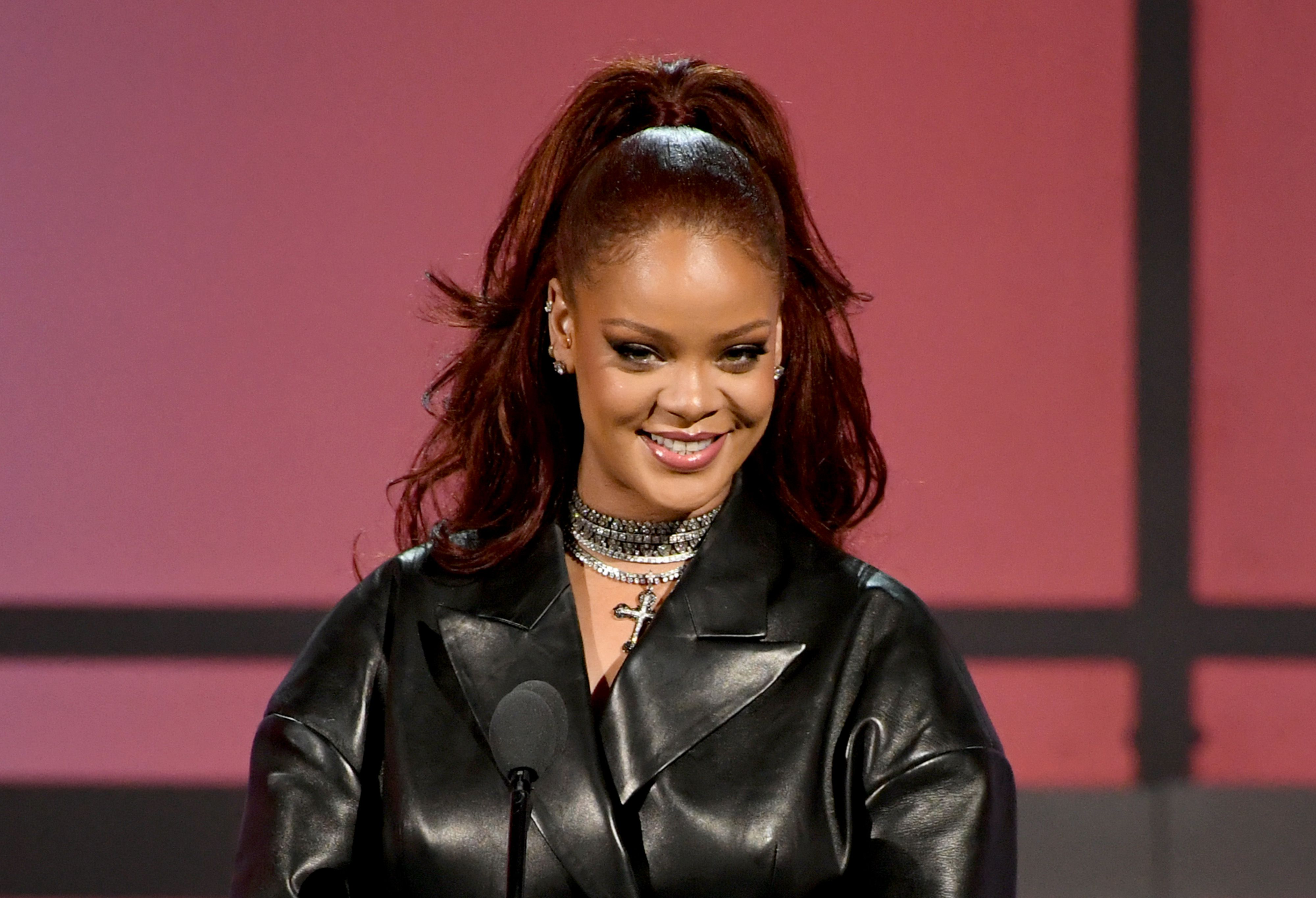 Rihanna during the 2019 BET Awards on June 23, 2019 in Los Angeles, California. | Source: Getty Images