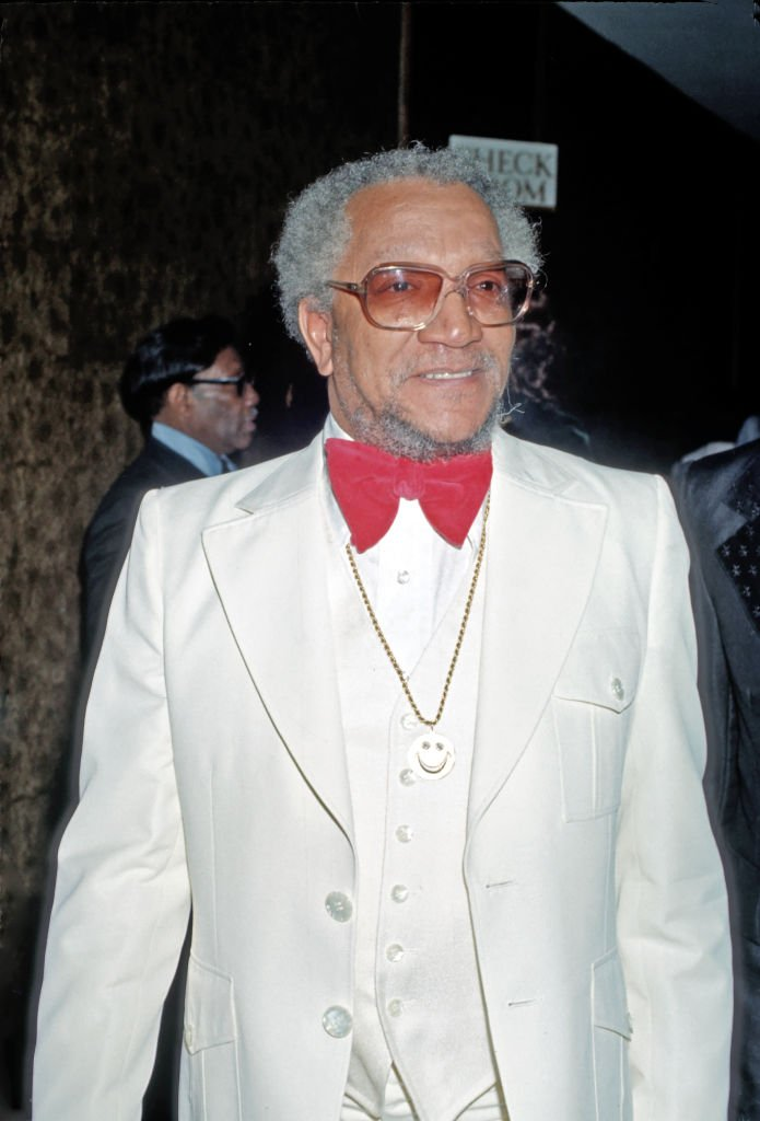 Comedian Redd Foxx arrives at an event in Los Angeles, California, circa 1977 | Photo: Getty Images