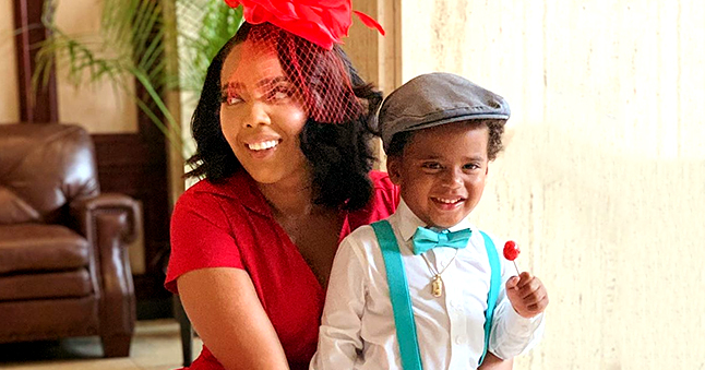 'Growing up Hip Hop' Star Angela Simmons Surprises Son Sutton with a Mini Jeep on His 3rd Birthday