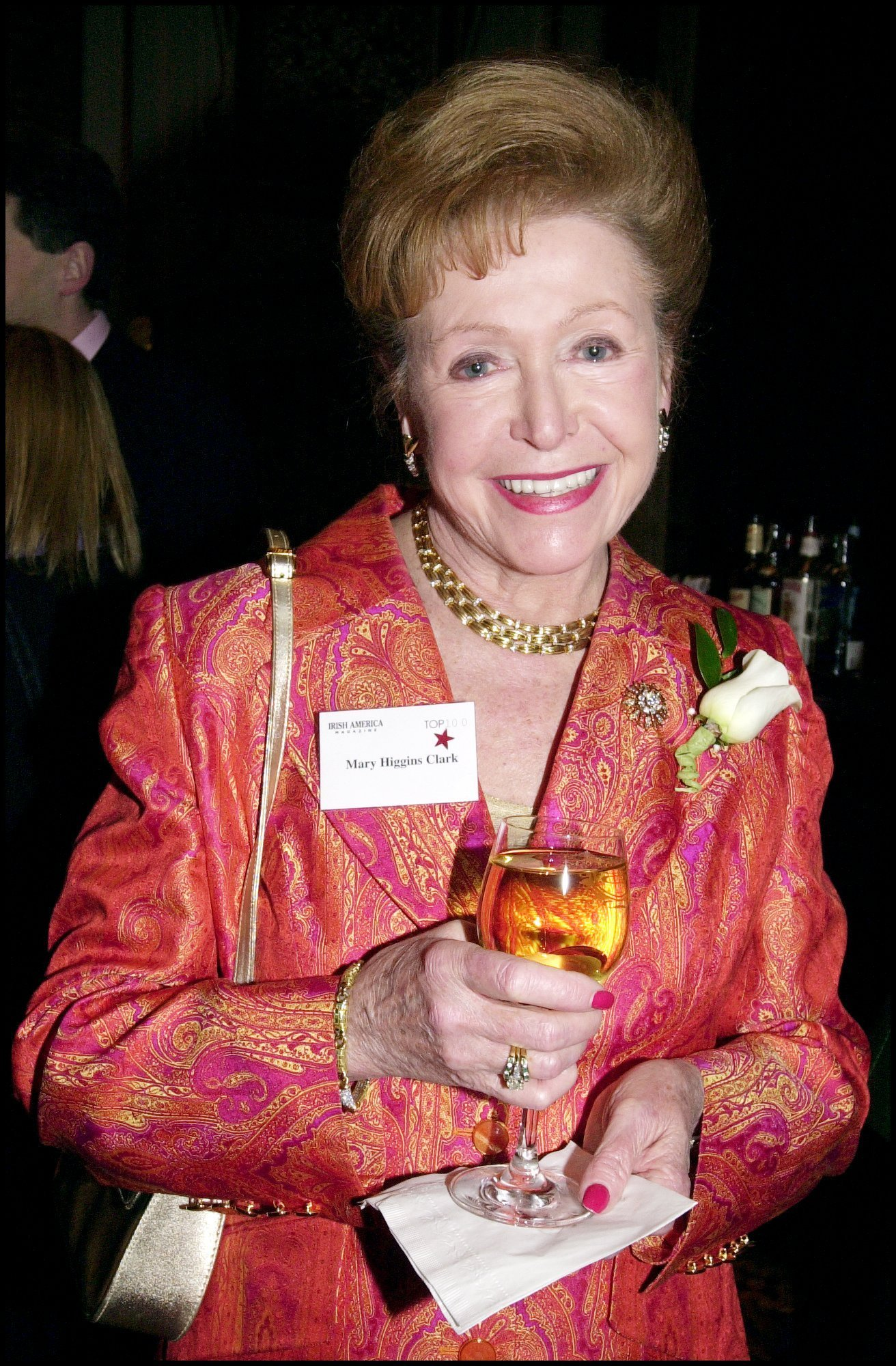 Mary Higgins Clark at  the16th annual Irish America top 100 gala at the Plaza Hotel in New York City | Photo: David LEFRANC/Gamma-Rapho via Getty Images