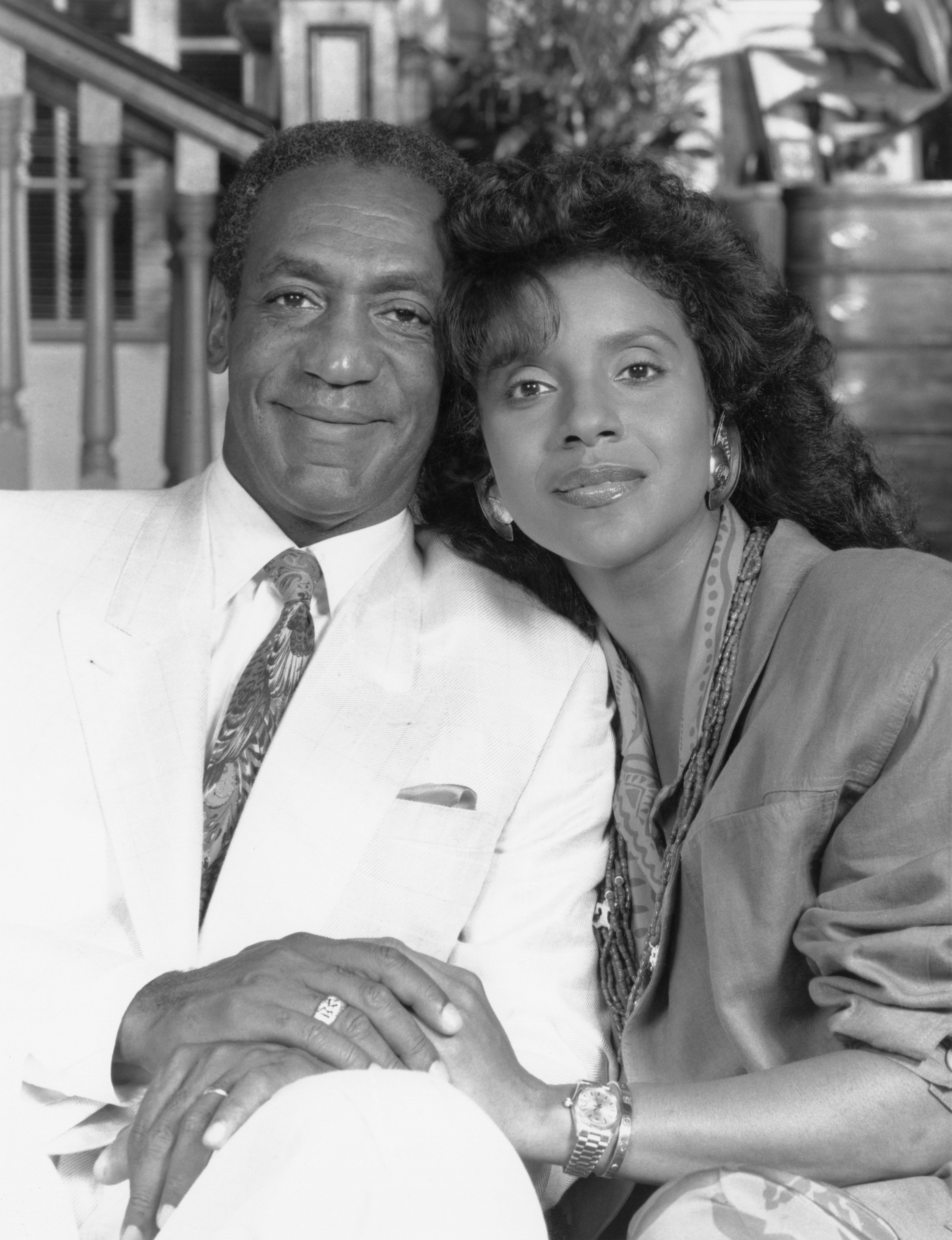THE COSBY SHOW -- Season 4 -- Pictured: (l-r) Bill Cosby as Dr. Heathcliff 'Cliff' Huxtable, Phylicia Rashad as Clair Hanks Huxtable  | Photo: GettyImages