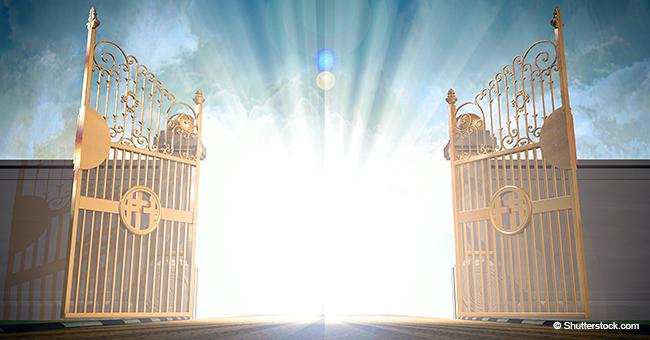 Trois hommes se présentent à la suite l'un de l'autre à la porte du paradis