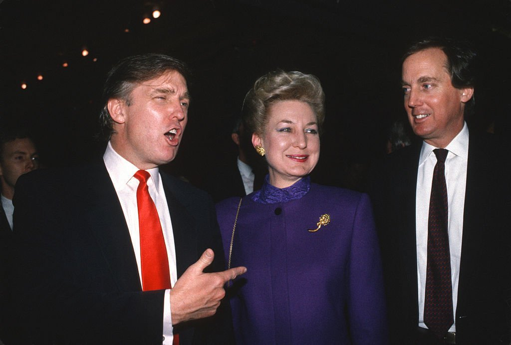 Donald Trump, Maryanne Trump Barry, and Robert Trump | Photo: Getty Images