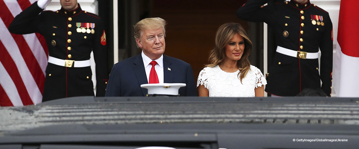 Melania Trump Looked Gorgeous at Dinner for Japanese Prime Minister on Her Birthday