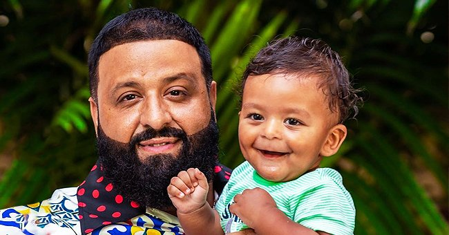 DJ Khaled Is a Picture of an Ideal Father as He Poses with His Son Aalam in a Cute Photo