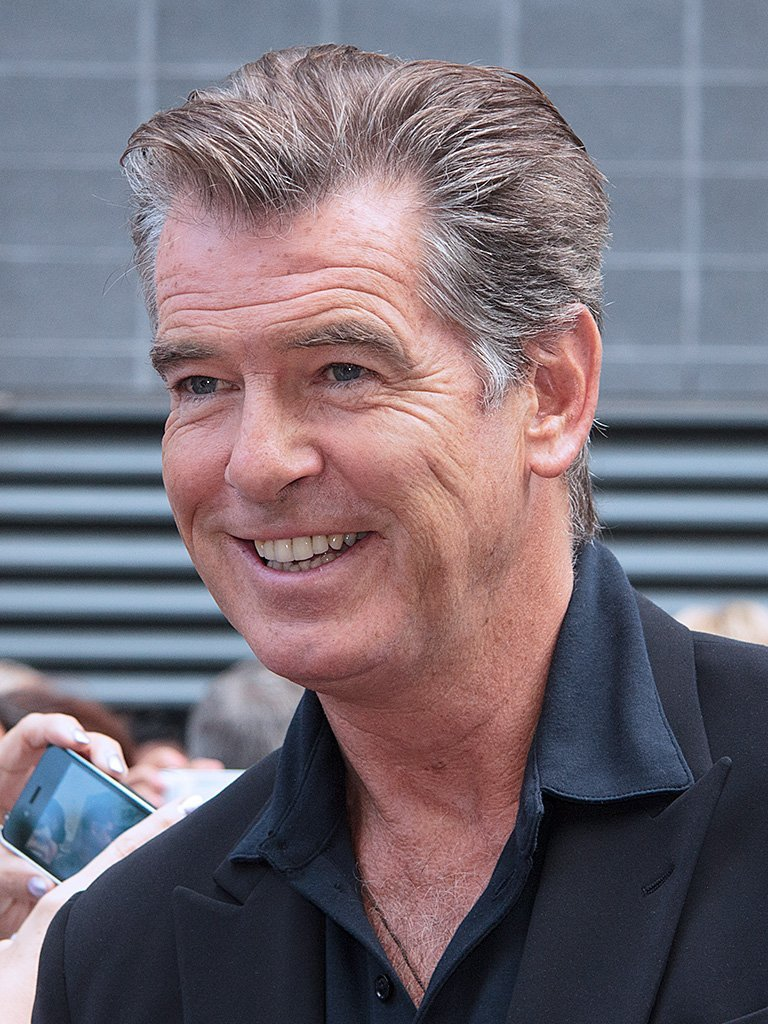 Pierce Brosnan at the 2013 Toronto International Film Festival. | Photo: Wikimedia Commons Images