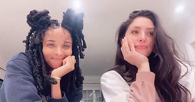 Ciara's Son Future Attempts to Interrupt Her & Vanessa Bryant Dancing to a 90's Challenge on IG