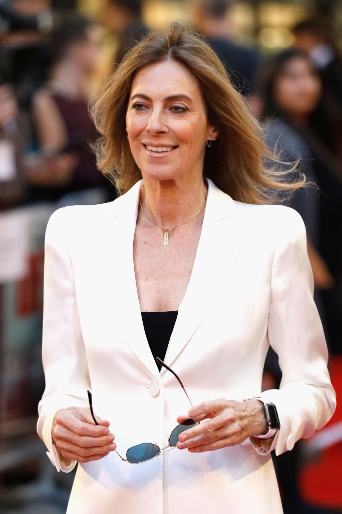 """Kathryn Bigelow arriving at the """"Detroit"""" European Premiere at The Curzon Mayfair on August 16, 2017 