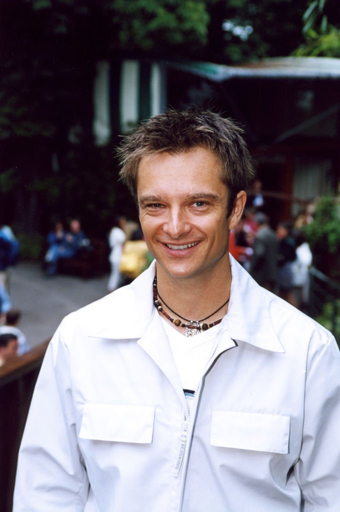 David Hallyday souriant | Photo : Getty Images