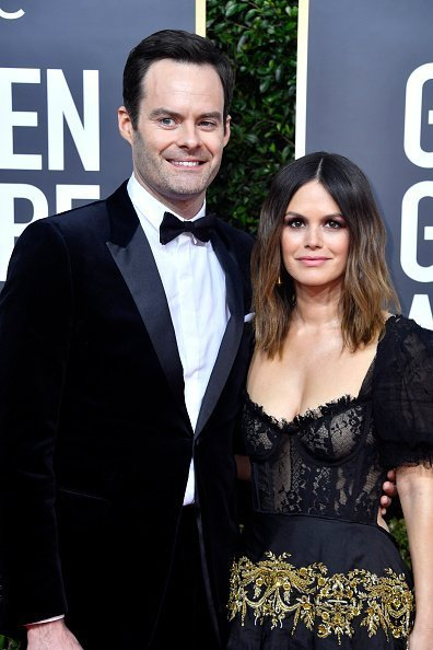 Bill Hader et Rachel Bilson à l'hôtel Beverly Hilton le 5 janvier 2020 à Beverly Hills, Californie. | Photo : Getty Images
