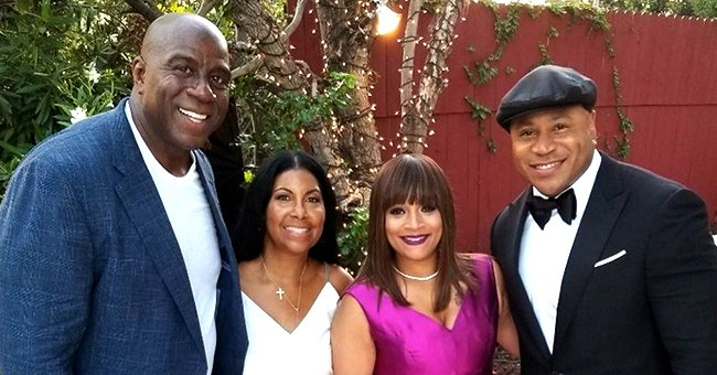 See LL Cool J's Wife's Tribute to Magic & Cookie Johnson on Their 29th Wedding Anniversary