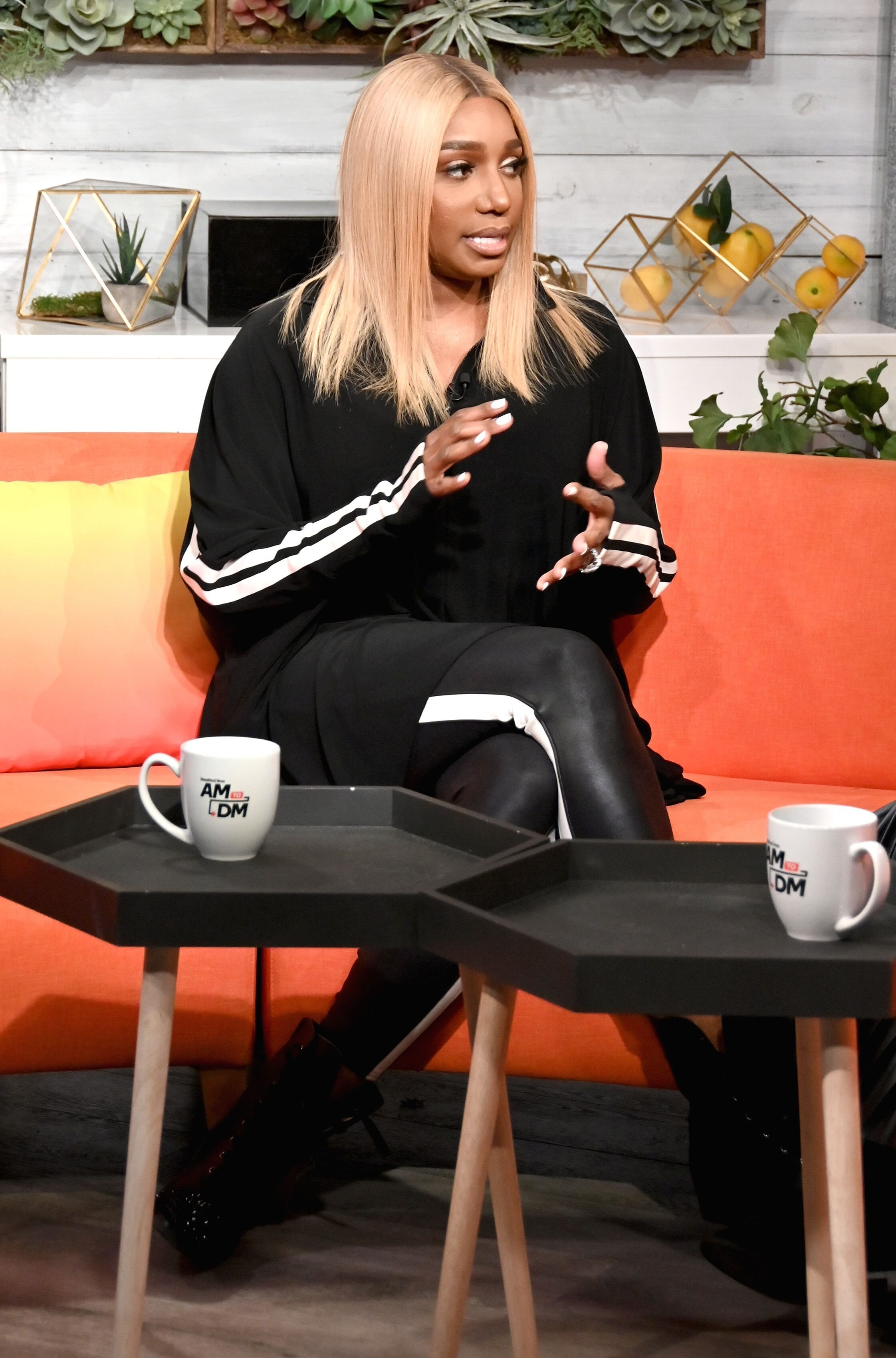 "NeNe Leakes visits BuzzFeed's ""AM TO DM"" to discuss the Bravo series ""The Real Housewives of Atlanta."" 