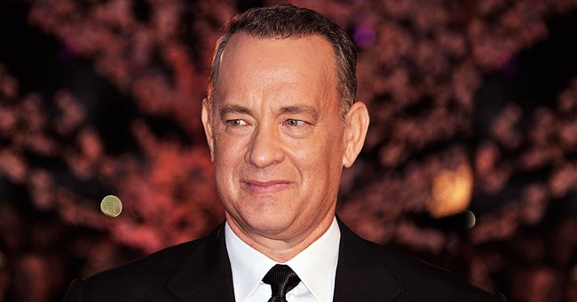 Tom Hanks' Biracial Granddaughter Is All Smiles Perched on Her Father's Shoulders during a Walk