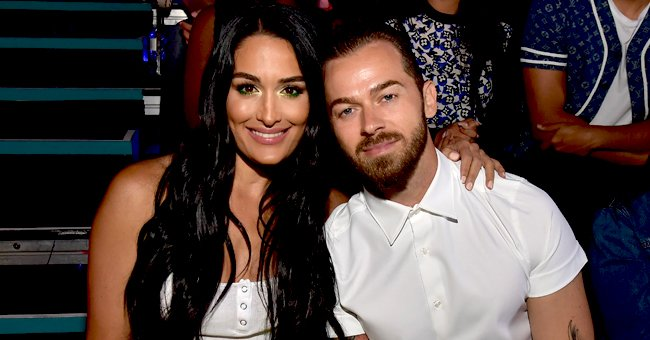 Artem Chigvintsev & Nikki Bella's 1-Month-Old Son Wears Glittery Outfit for DWTS Premiere