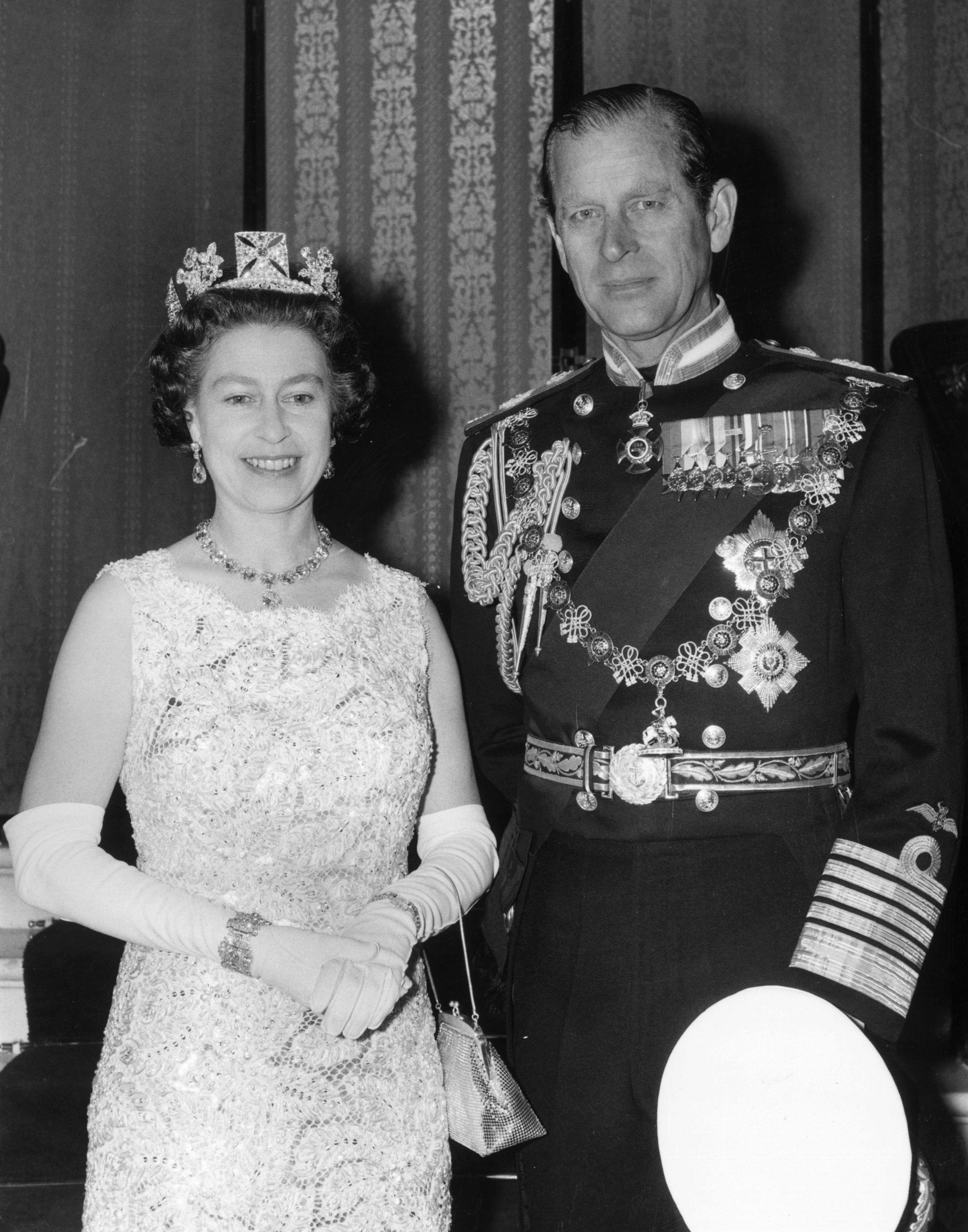 Queen Elizabeth II and Prince Philip, Duke of Edinburgh, during celebrations for their Silver Wedding anniversary   Photo: Getty Images