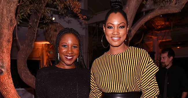 Garcelle Beauvais of 'Jamie Foxx Show' Fame Flashes Wide Smile in Selfie Taken with Her Friend Lisa L Wilson