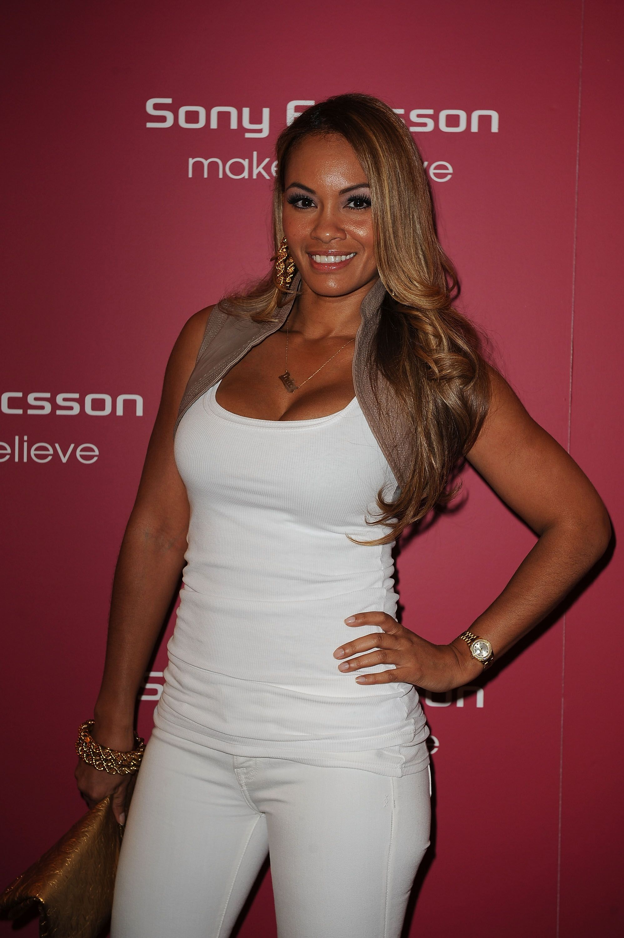 Evelyn Lozada at a Sony Ericsson event | Source: Getty Images/GlobalImagesUkraine