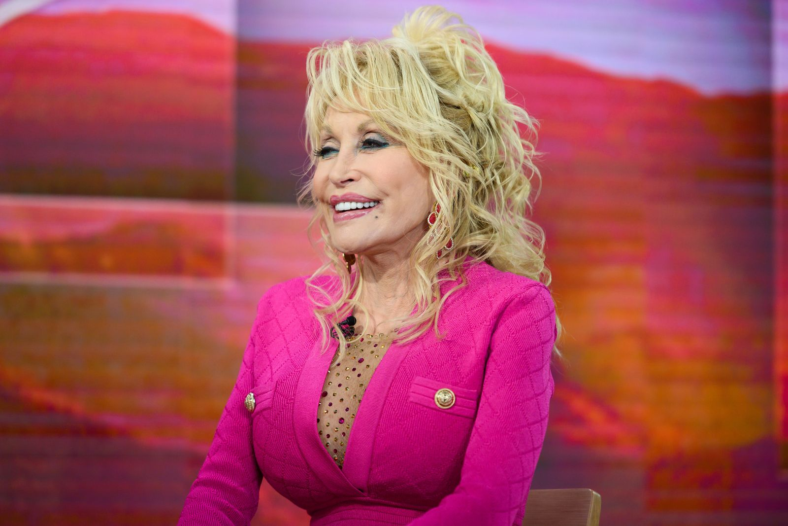 Dolly Parton at Today - Season 68 on Wednesday, November 20, 2019 | Photo: Getty Images