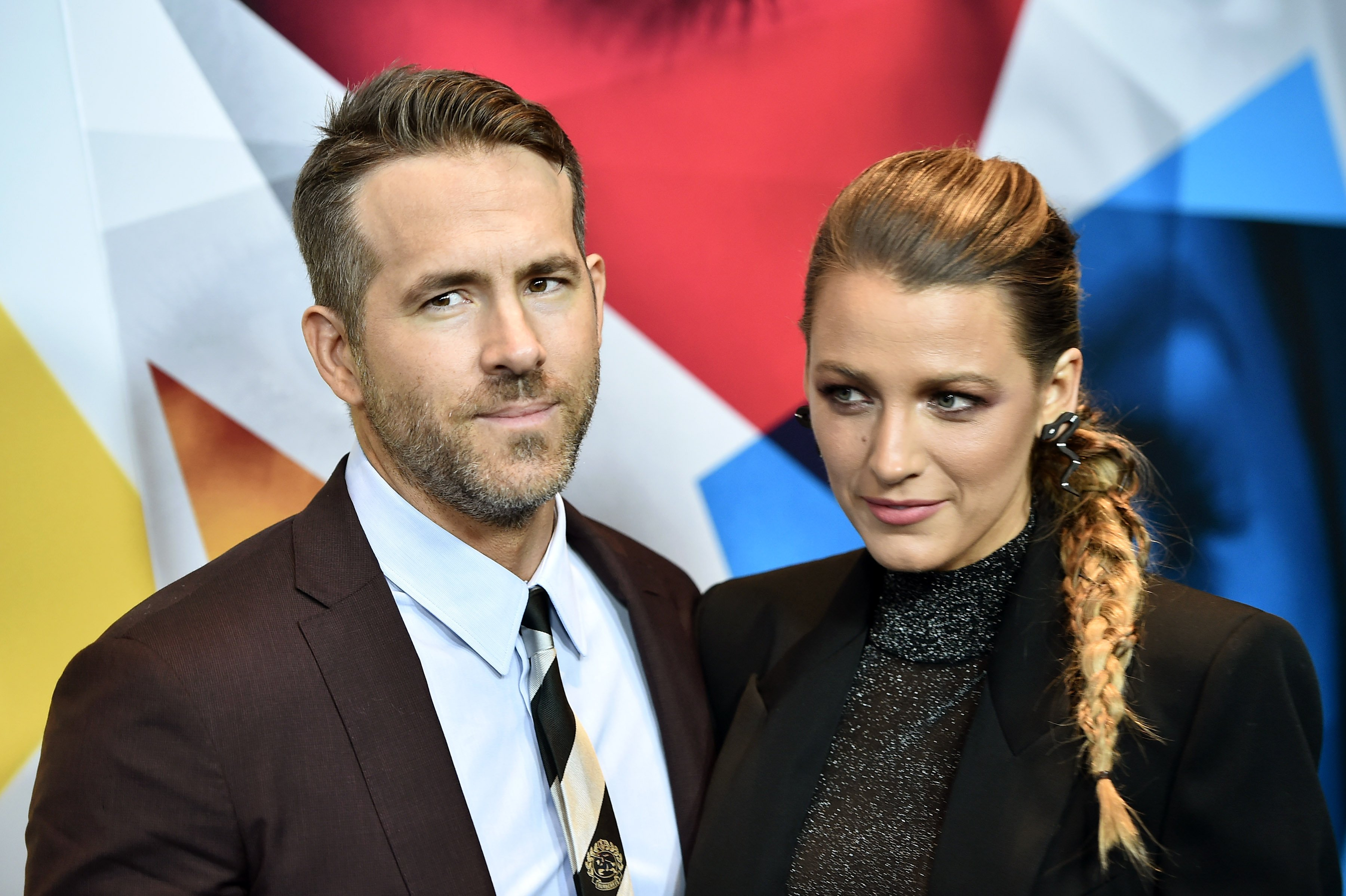 "Ryan Reynolds and Blake Lively attend the New York premier of ""A Simple Favor"" on September 10, 2018, in New York City. 