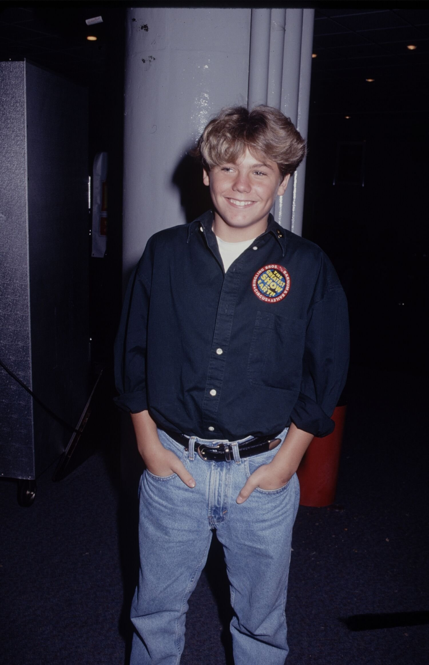Jason James Richter poses for the camera.   Source: Getty Images