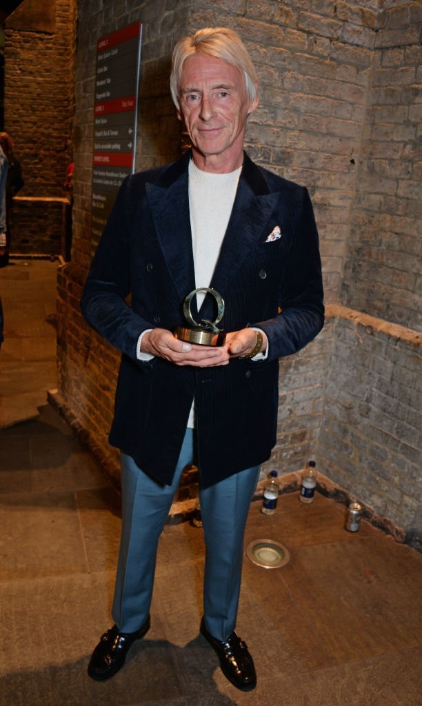 Paul Weller, winner of the Q Best Act In The World Today award, poses at the Q Awards 2018 | Getty Images