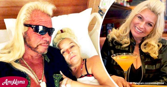 Beth Chapman comparte nueva y festiva foto con martini en medio de batalla contra el cáncer