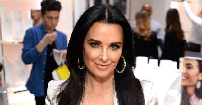 Kyle Richards attends the Kendra Gives Back event at Kendra Scott, February 2020   Source: Getty Images