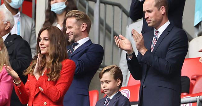 Royal Fans Praise 'Lucky Charm' Prince George's 'Very Dapper' Suit at Wembley
