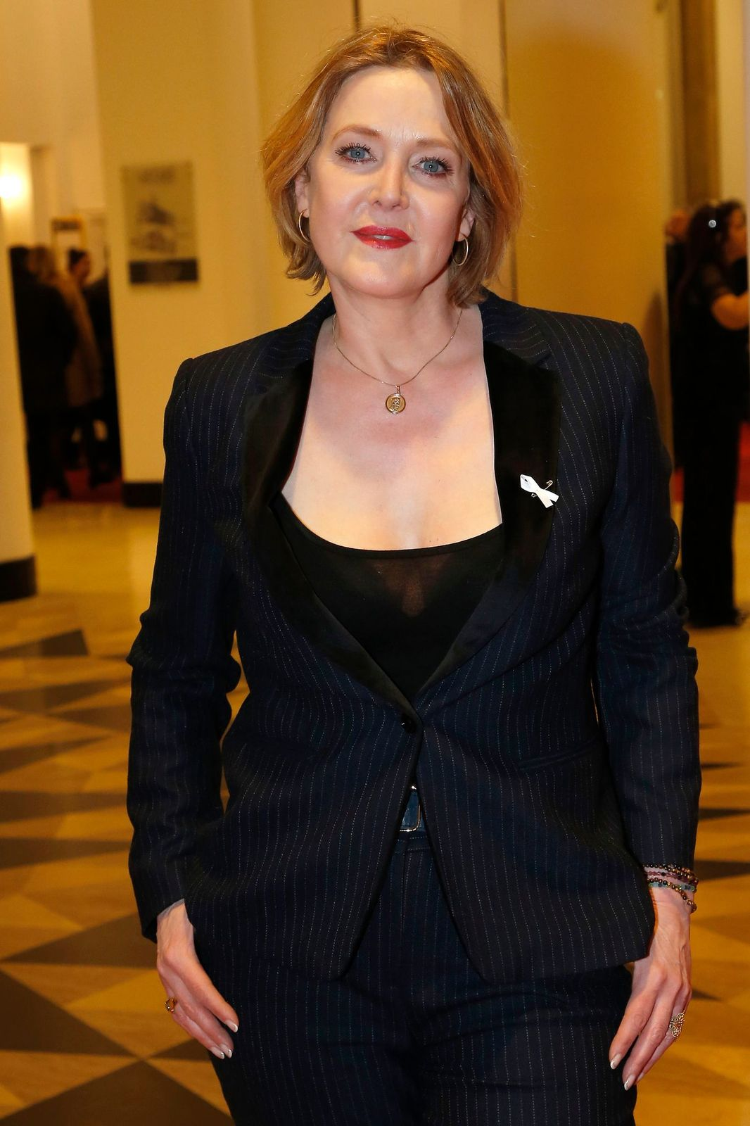 L'actrice Agnès Soral | Photo : Getty Images.