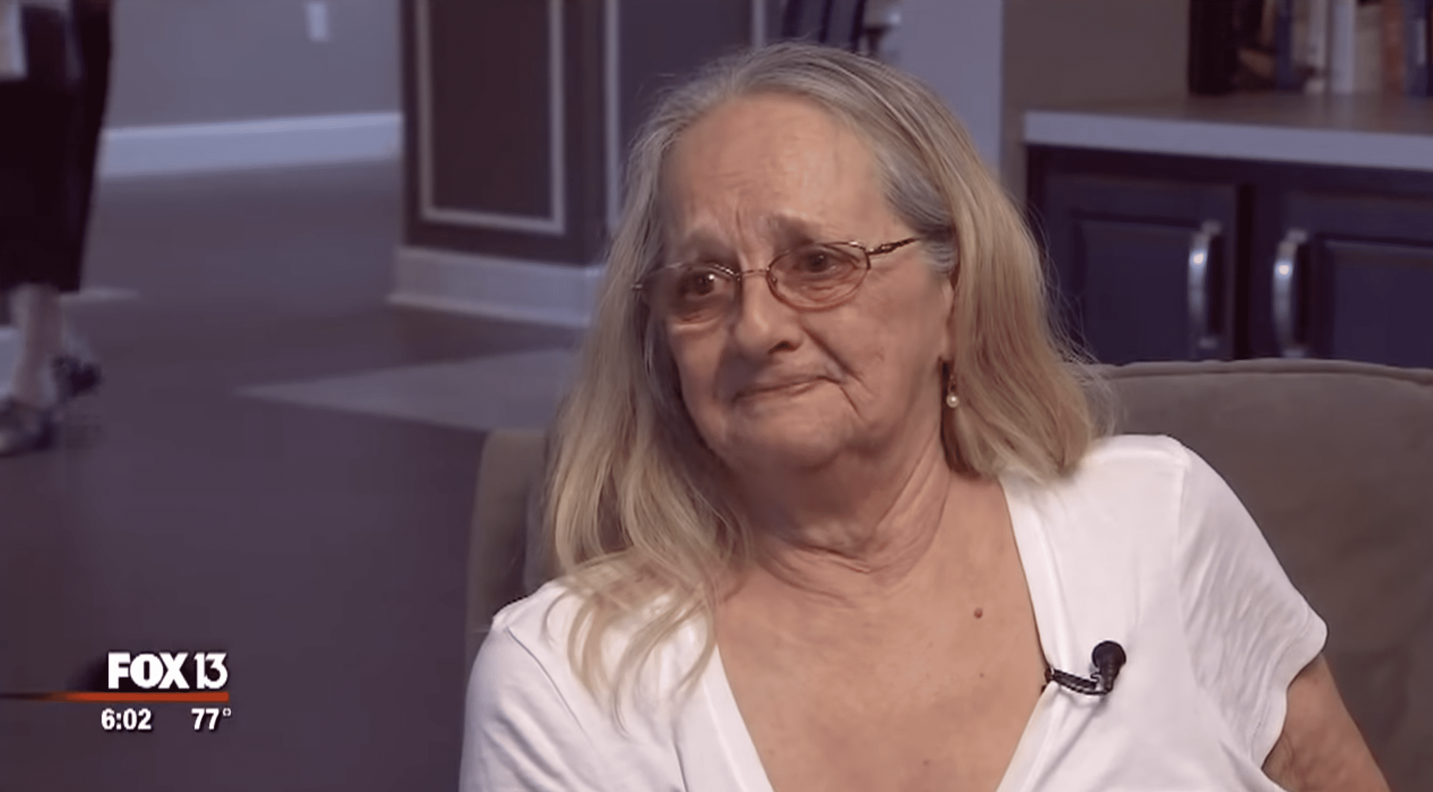 Connie Moultroup shared that the DNA kit helped her find her birth mom. | Photo: youtube.com/FOX 13 Tampa Bay