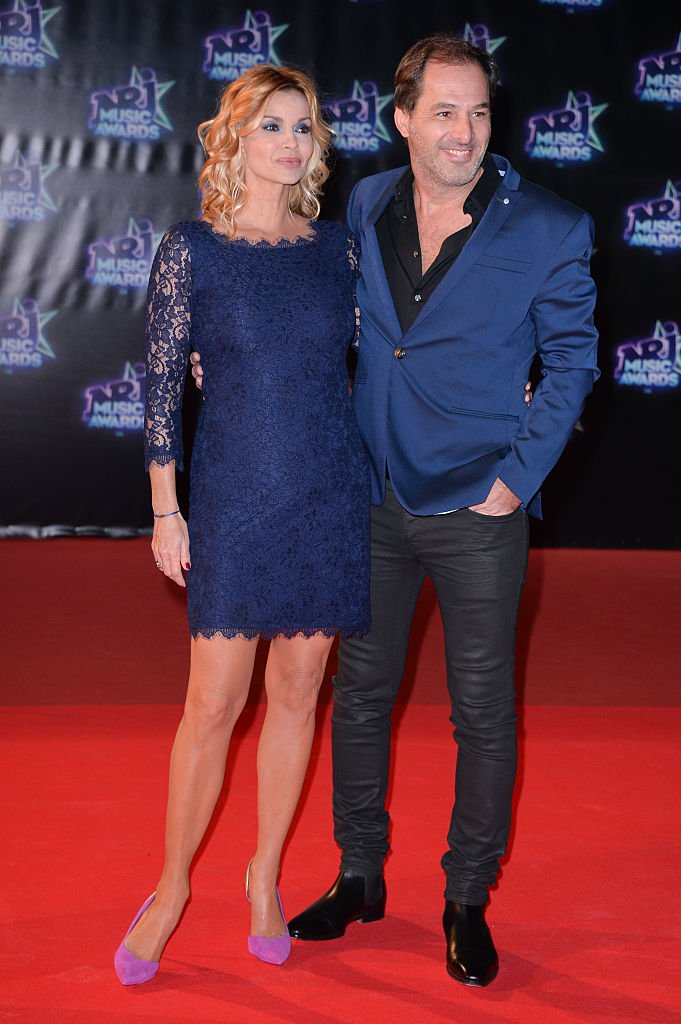 Thierry Peythieu et Ingrid Chauvin assistent à la 18e édition des NRJ Music Awards au Palais des Festivals le 12 novembre 2016 à Cannes, France. | Photo : Getty Images