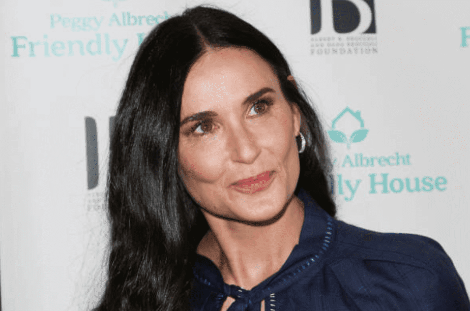 Demi Moore on the red carpet for the 'Friendly House' 30th annual awards luncheon, on October 26, 2019 in Beverly Hills, California | Source: (Photo by Paul Archuleta/FilmMagic)