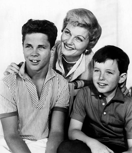 "The Cleaver family from the television program ""Leave it to Beaver."" 