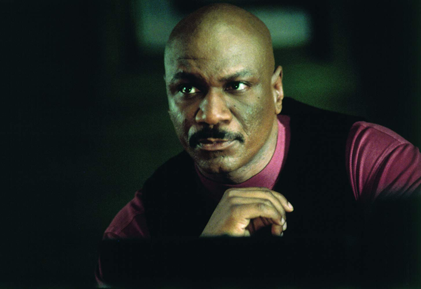 "Ving Rhames in ""Mission: Impossible II"" in 2000 