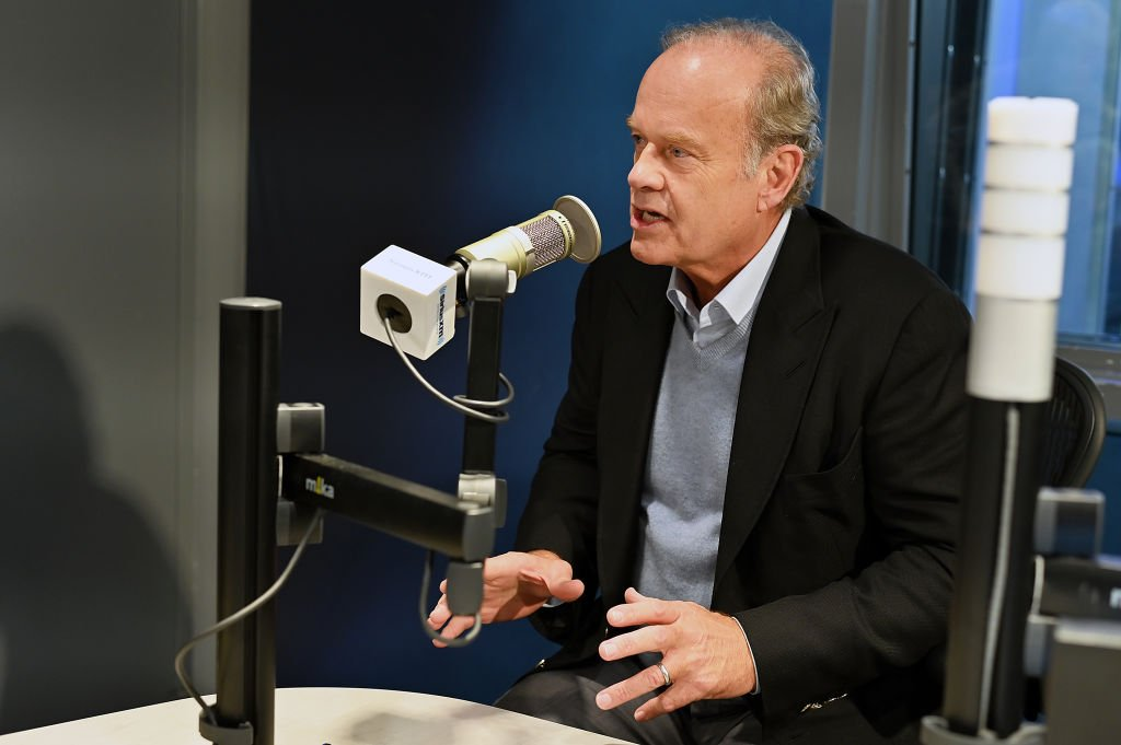 Actor Kelsey Grammer visits Volume at SiriusXM Studios on February 14, 2019. | Photo: Getty Images