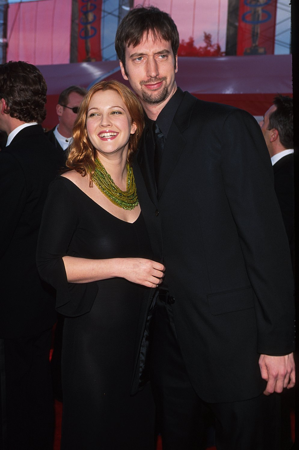 Tom Green and Drew Barrymore on March 26, 2000, in Los Angeles, California | Photo: Getty Images