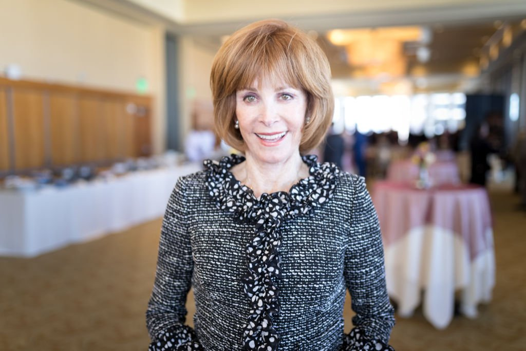 Stefanie Powers at the Thalians: Hollywood for Mental Health Presidents Club Party on February 18, 2018 | Photo: Getty Images