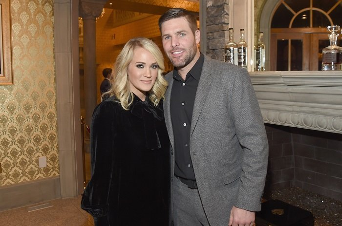 Carrie Underwood and Mike Fisher I Image: Getty Images