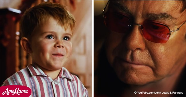 Elton John starred in a Christmas сommercial and it's a real tearjerker