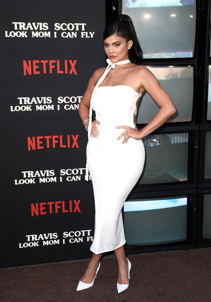 "Kylie Jenner attends the Travis Scott: ""Look Mom I Can Fly"" Los Angeles Premiere at The Barker Hanger. 
