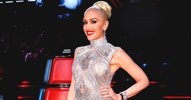 Gwen Stefani Shares 'The Voice' Chair with Blake Shelton in a Recent Pic